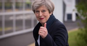 "Theresa May: ""She only really gets animated these days in order to deny that there is actually anything called Mayism."" Photograph: PA Wire"