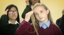 Dublin Deaf School choir sign 'Molly Malone'