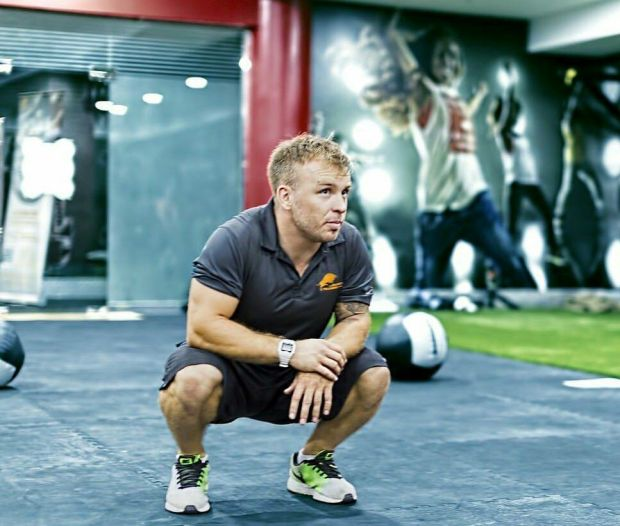 Scrum-half Kris Greene runs the Physical Training Company in Dubai.