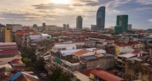 An Irish man has died in Cambodia after collapsing in a restaurant in the capital city of Phnom Penh. Photograph: iStock
