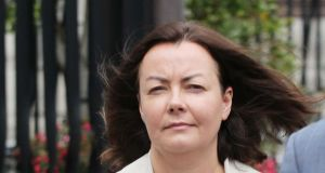 Deirdre Foley: The case against Ms Foley, Mark Redmond and Brendan Cooney, OCS Operations Ltd and Natrium Ltd has been adjourned until July 3rd. Photograph: Collins Courts
