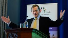 Taoiseach Enda Kenny is to get an annual pension of €126,000 and an up-front lump sum of €378,000 when he retires as a TD. Photograph: Cyril Byrne