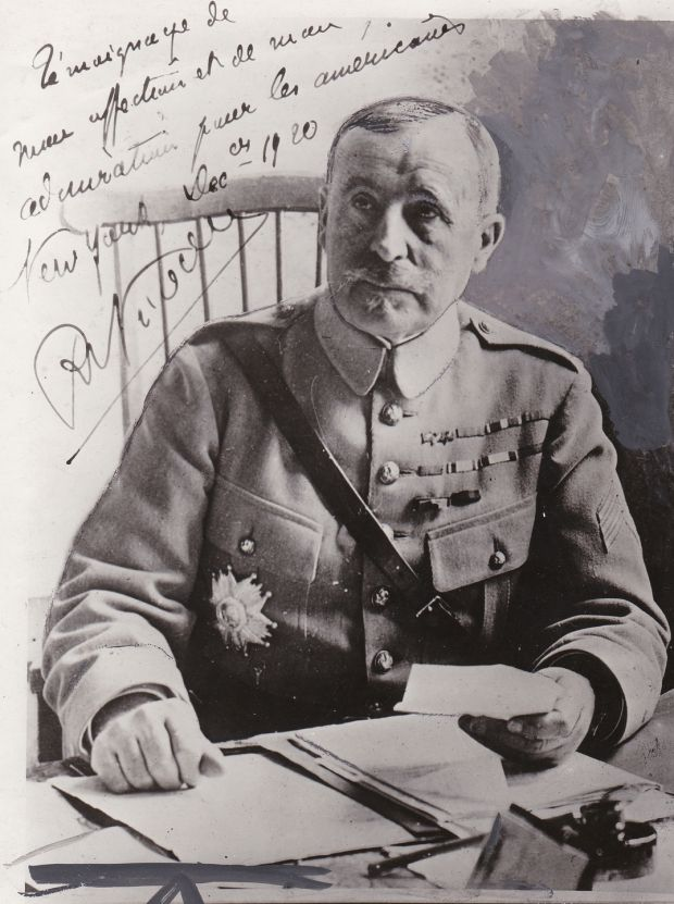 French commander Gen Robert Nivelle
