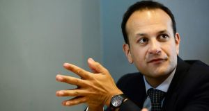 "Leo Varadkar: ""Appears to have an unstoppable momentum at this stage."" Photograph: Cyril Byrne"