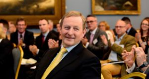 The Taoiseach  will receive an Oireachtas pension based on his years as a TD as well as a pension based on his time as an office holder. Photograph: Cyril Byrne
