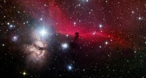 The Horsehead Nebula, as observed from the Kerry International Dark-Sky Reserve, one of only three dark-sky reserves in the world. Photograph: George Doyle.