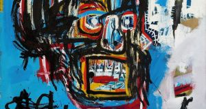 Jean-Michel Basquiat's 'Untitled', which has sold for €99m. Photograph: Sotheby's via AP