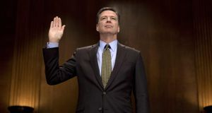 Former FBI director James Comey has agreed to testify before the Senate intelligence committee about meeting with Donald Trump. Photograph: Jim Watson/AFP/Getty Images