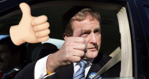 Enda only told his closest advisors he was resigning minutes before he left for the meeting.