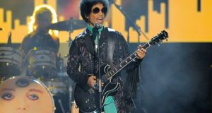 File image of Prince performing at the MGM Grand Garden Arena in Las Vegas, US, in May 2013.  File photograph: Chris Pizzello/Invision/AP
