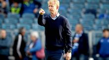 Leinster head coach Leo Cullen at the RDS for Friday night's Pro12 semi-final defeat. Photograph: Ryan Byrne/Inpho