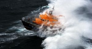 The RNLI Arranmore lifeboat located the vessel on anchor and towed it to Burtonport. File photograph.