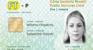 The Government is examining potential uses for the public services card, including as a passport card.