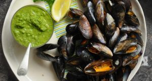 Lilly Higgins recipe: Roast mussels with zhug