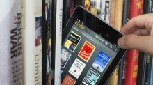 Remarkably resilient: books seem to have turned the tide against ereaders. Photograph: Iain Masterton/Canopy/Getty