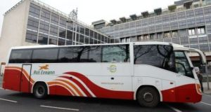 Strike action at Bus Éireann brought services  to a standstill for three weeks in March and April.