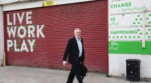 Labour leader Jeremy Corbyn arrives at Fruit in Hull, on the General Election campaign trail.  Chris Radburn/PA Wire