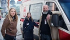 Converted 'sex ambulance' provides safety for prostitutes in Copenhagen