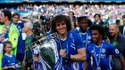 David Luiz made a very generous gesture to his Chelsea teammates after they won the Premier League. Photo: Ian Kington/Getty Images