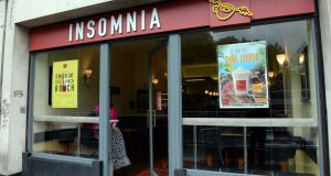 Insomnia plans to  open stores in Drumcondra and Mary Street in Dublin, Cavan, Mallow and Belfast. Photograph: Eric Luke