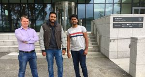 Karolis Duoba, Kishore Kumar  Yekkant and Karthik Suram, co-founders of Try It Love It