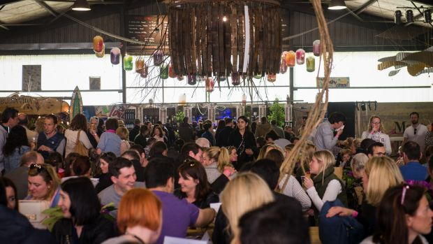 The Big Shed, home of all the craic at Litfest. Photograph: Joleen Cronin