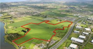 The land has two zonings under the Fingal Development Plan: a greenbelt covering 44.60 acres and high amenity covering 30.90 acres