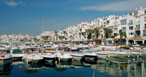 Britons bought about 2,175 homes in Spain in the first quarter, down from about 2,800 a year earlier, according to calculations based on data from the registry. Photograph: Getty Images