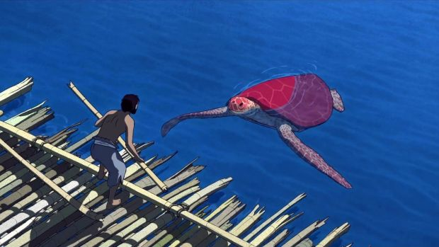 The Red Turtle: 'damp washes and elegant story'