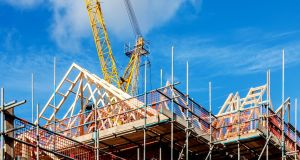 Employment in Ireland's construction sector rose by 8.5 per cent or 11,100. Photograph: iStockPhoto