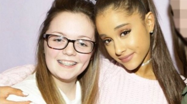 A picture of Georgina Callander, who died in the Manchester attack, with Ariana Grande in an image posted two years ago. Photograph: georgina.bethany/Instagram