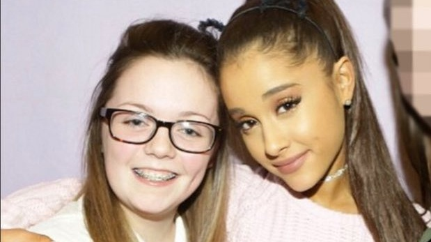 Georgina Callander with Ariana Grande in an image Instagrammed two years ago. Photograph: georgina.bethany/Instagram