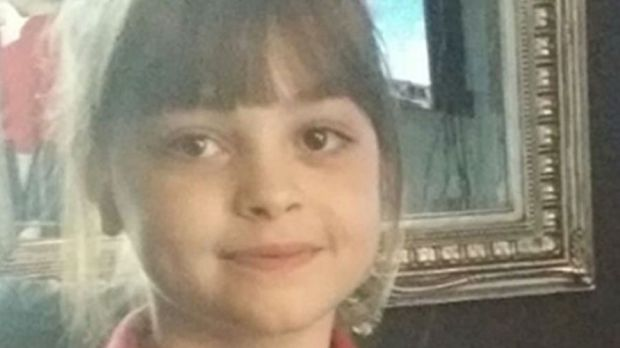 Saffie Rose Roussos, eight, one of the victims of the bomb attack at the Ariana Grande concert at Manchester Arena which left 22 dead and at least 59 injured. Photograph: PA Wire
