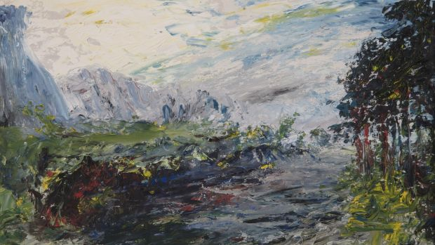 Lot 35: Early Morning, Cliffony by Jack B Yeats