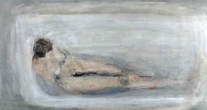 Gillian Bowler collection: Lot 46, The Bath by Patrick Collins