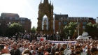 Mancunians gather in their thousands for city centre vigil