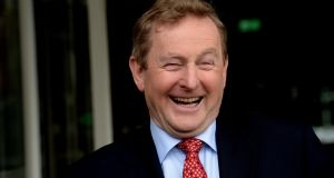 'Taoiseach Enda Kenny has done his time.' Photograph: Cyril Byrne/The Irish Times