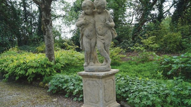 Lot 180: cherubs on a pedestal estimate €2,500-€3,500 at Sheppard's