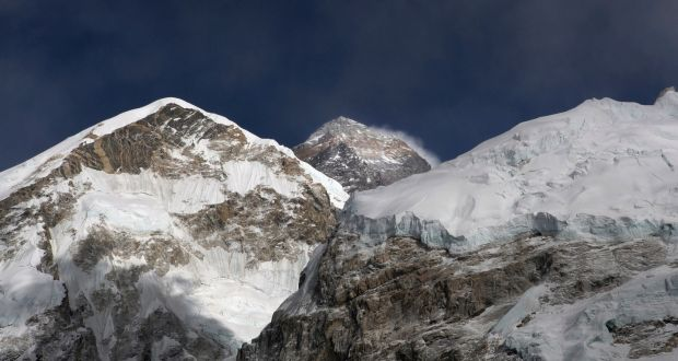 Everest bodies of four climbers found in tents as death toll spikes the peak of mount everest centre the worlds highest mountain at 8848 metres fandeluxe Choice Image