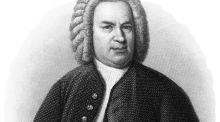 Antique engraved portrait of Johann Sebastian Bach, the grand master of structural innovation and invention in music