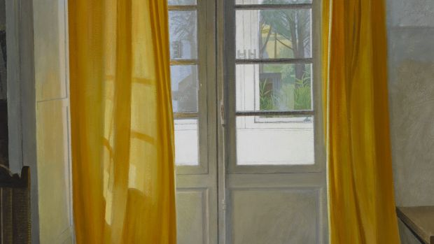 French Window Contra Jour by Joe Dunne