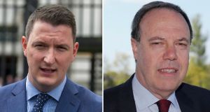 North Belfast: Sinn Féin candidate John Finucane and DUP contender Nigel Dodds have been deeply affected by the North's Troubles. Photographs PA