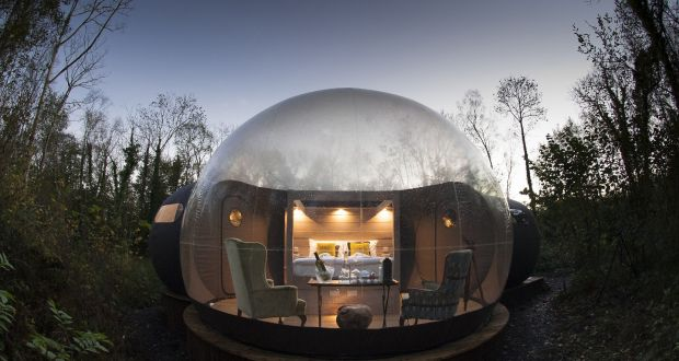 Bubble Dome At Lough Finn Co Fermanagh