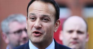 """Leo Varadkar has not shown himself to be a great ally of migrants living here, nor does he appear to have much interest in Ireland's significant racial issues."" Photograph: Brian Lawless/PA Wire"