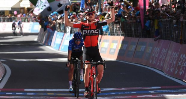 Image result for Dumoulin fends off Quintana to keep Giro lead, Dutchman Tom