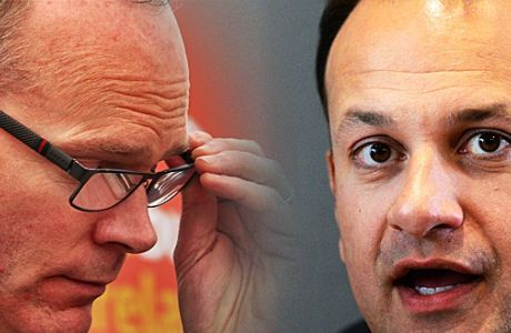 'Irish Times' poll: Voters prefer Simon Coveney to Leo Varadkar
