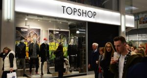 While Topshop is a fixture on British high streets, the chain has only 140 stores outside the UK