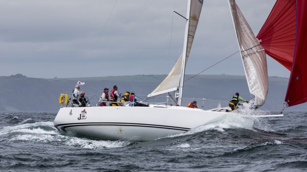 John Maybury's Joker 2 will defend its 2016 ICRA national title in Class 1 at this year's championships in Crosshaven on the weekend of June 9th. Photograph: David Branigan/Oceansport