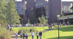 The University of Limerick campus. The Department of Education has announced details of a review into the governance, HR and financial practices at UL.