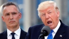 Trump's trip to NATO exposed tensions in the alliance